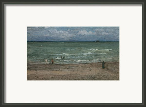 The Sea Framed Print By James Abbott Mcneill Whistler