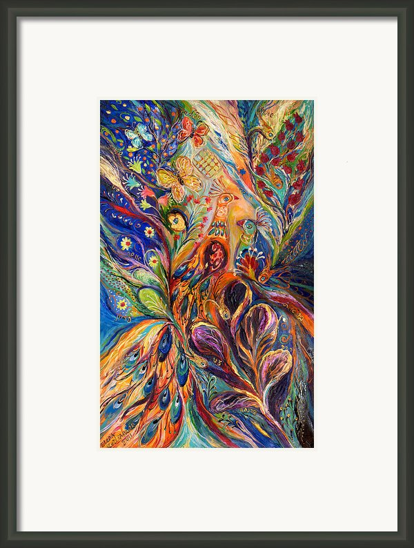 The Serenade. The Original Can Be Purchased Directly From Www.elenakotliarker.com Framed Print By Elena Kotliarker