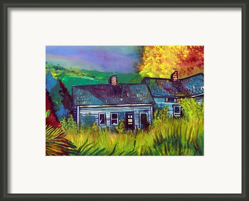 The Shack Framed Print By Mindy Newman