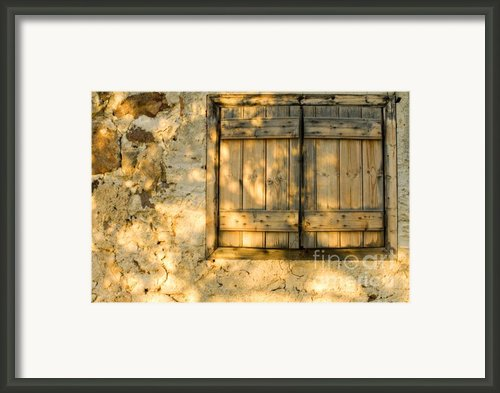 The Simple Life Framed Print By Meirion Matthias
