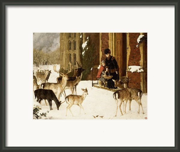 The Sisters Of Charity Framed Print By Charles Burton Barber