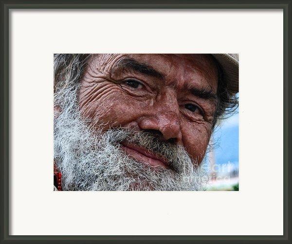 The Smile Of Life Framed Print By Erhan Ozbiyik