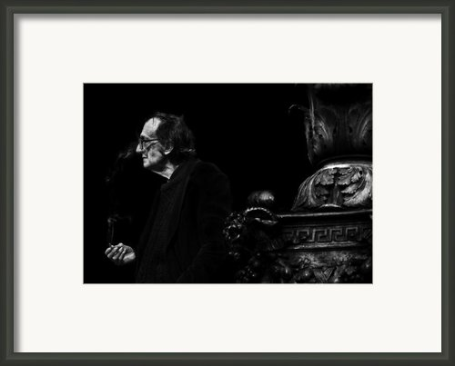The Smoking Man Framed Print By Todd Fox