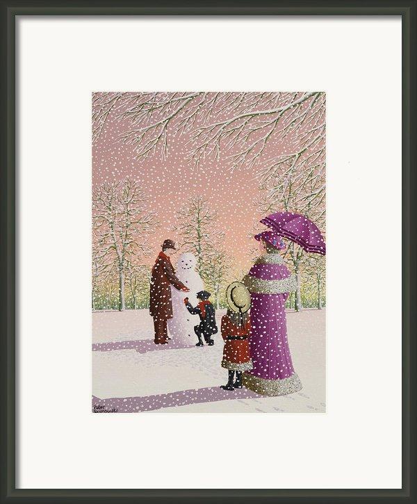 The Snowman Framed Print By Peter Szumowski