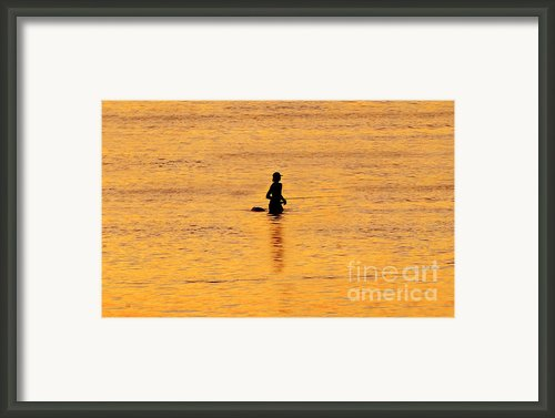 The Son Of A Fisherman Framed Print By David Lee Thompson