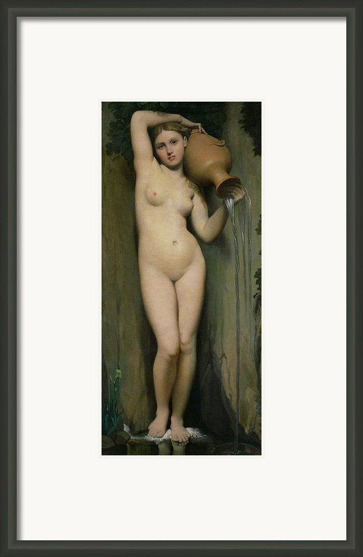 The Source Framed Print By Ingres