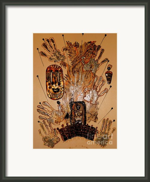 The Spirit Of Survival Framed Print By Angela L Walker