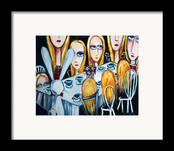 The States Of Alice Framed Print By Leanne Wilkes