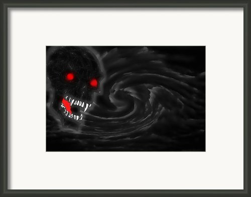 The Storm God Framed Print By Garry Staranchuk