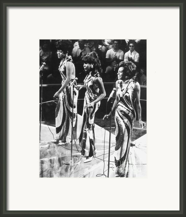 The Supremes, C1963 Framed Print By Granger