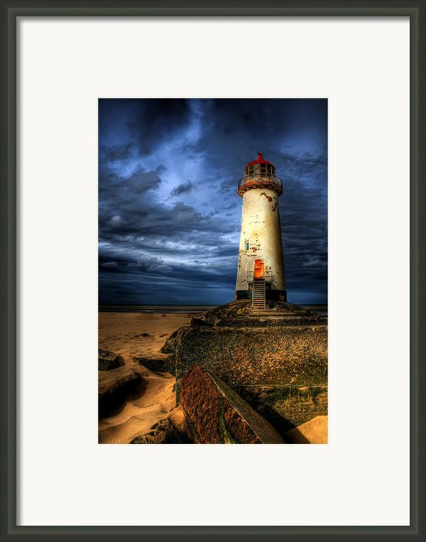 The Talacre Lighthouse Framed Print By Adrian Evans