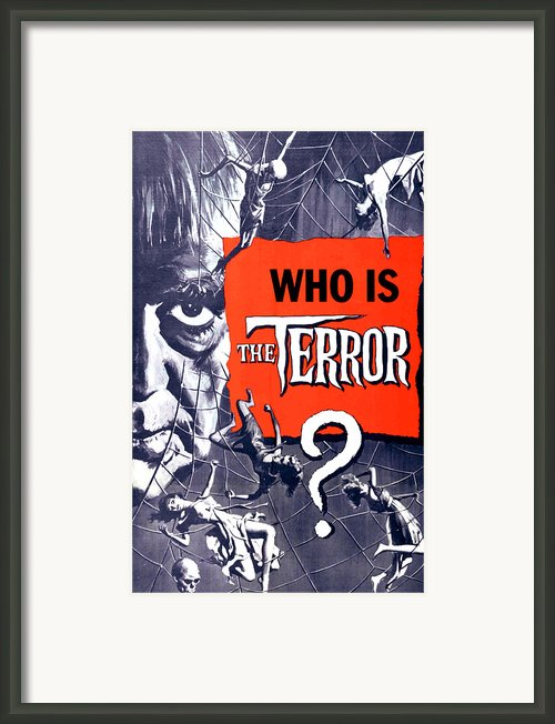 The Terror, Boris Karloff On 1 Sheet Framed Print By Everett