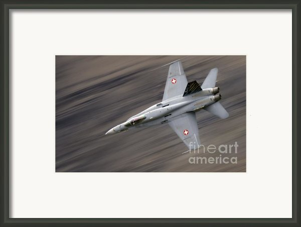 The Thrust Framed Print By Angel  Tarantella
