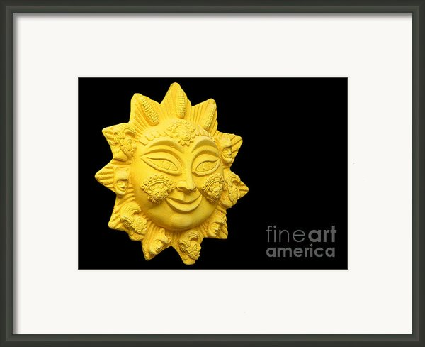 The Time Of No-time Framed Print By Christine Till