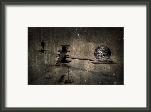 The Time Framed Print By Svetlana Sewell