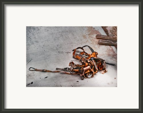 The Tool Belt Framed Print By Brenda Bryant
