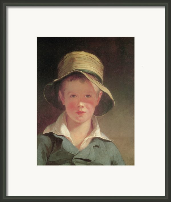 The Torn Hat Framed Print By Thomas Sully