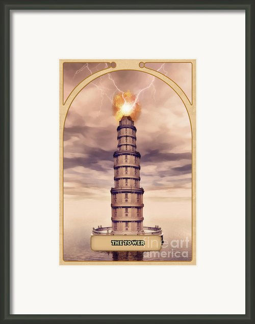The Tower Framed Print By John Edwards
