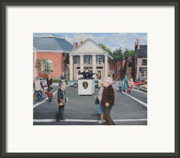 The Traffic Box Framed Print By Jack Skinner