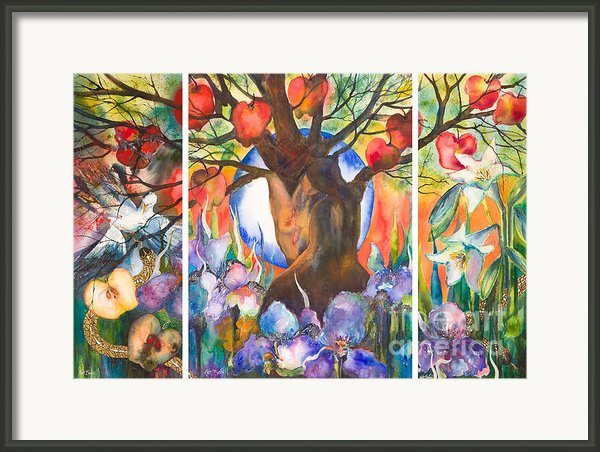 The Tree Of Life Framed Print By Kate Bedell