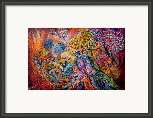 The Trees Of Eden Framed Print By Elena Kotliarker