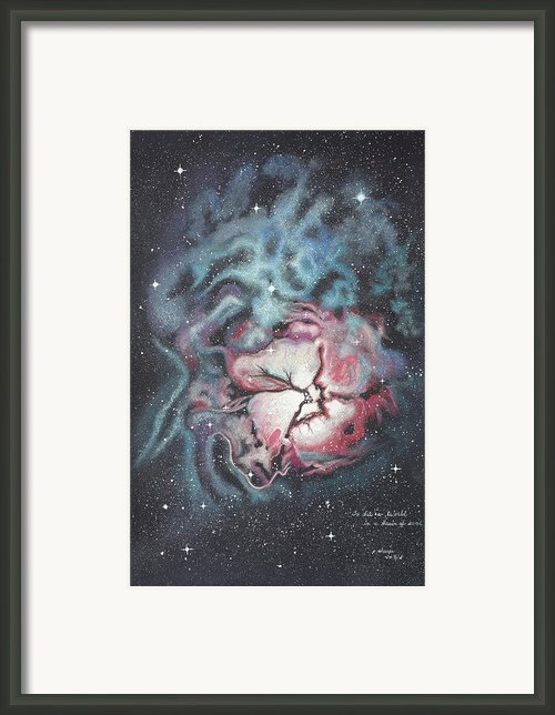 The Trifid Nebula Framed Print By Patsy Sharpe