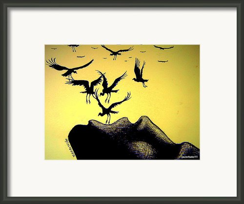 The Truth Is Inside Framed Print By Paulo Zerbato