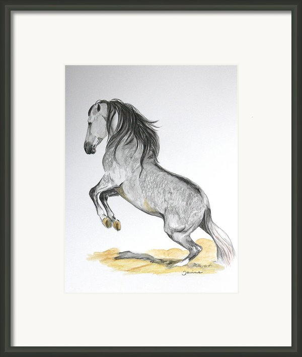 The Turn Framed Print By Janina  Suuronen