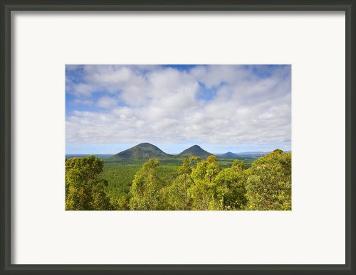 The Twins Framed Print By Mike  Dawson