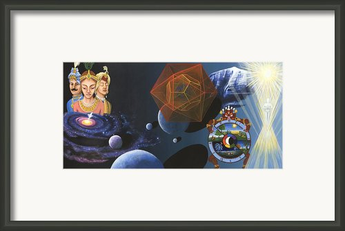 The Two Kings Framed Print By Nad Wolinska