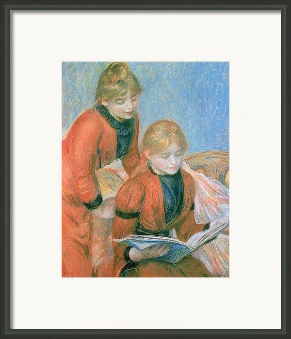 The Two Sisters Framed Print By Pierre Auguste Renoir