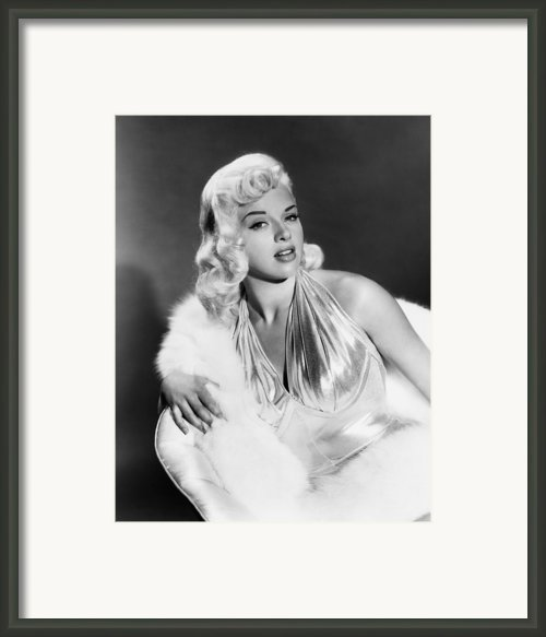 The Unholy Wife, Diana Dors, 1957 Framed Print By Everett