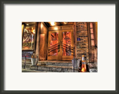 The Union Woodshop Clarkston Mi Framed Print By Nicholas  Grunas