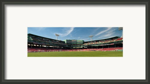 The View From Center Framed Print By Paul Mangold