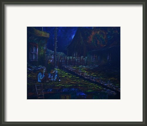 The Wall In Left Field Framed Print By William Bezik