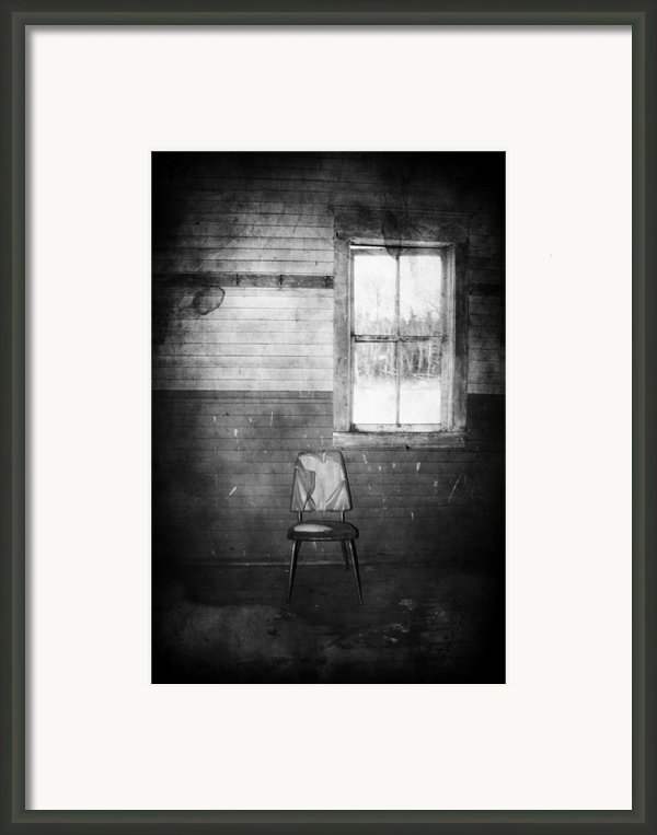 The Wallflowers Seat  Framed Print By Jerry Cordeiro
