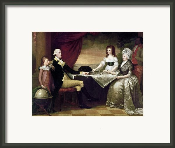 The Washington Family Framed Print By Granger