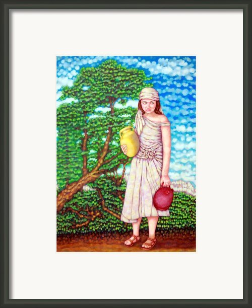 The Water Maid Framed Print By Edward Ruth