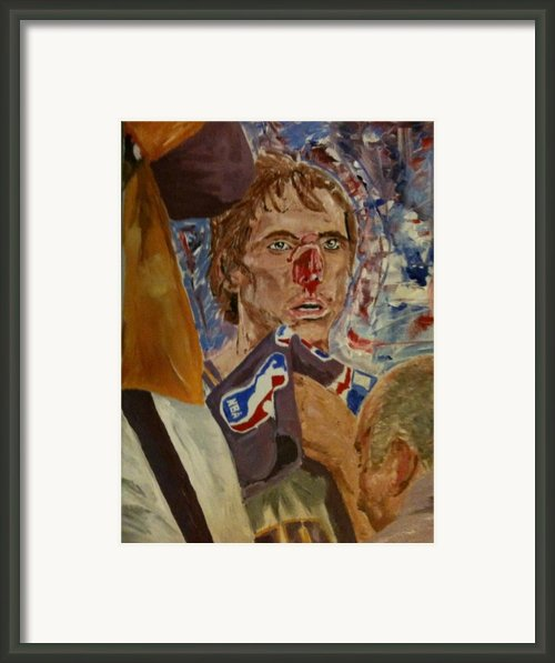 The Way Canadians Play Basketball Framed Print By Daryl Williams Jr