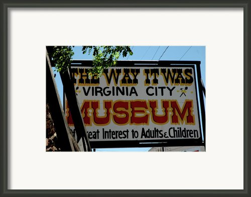 The Way It Was Framed Print By Leeann Mclanegoetz Mclanegoetzstudiollccom