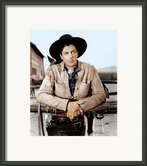 The Westerner, Gary Cooper, 1940 Framed Print By Everett