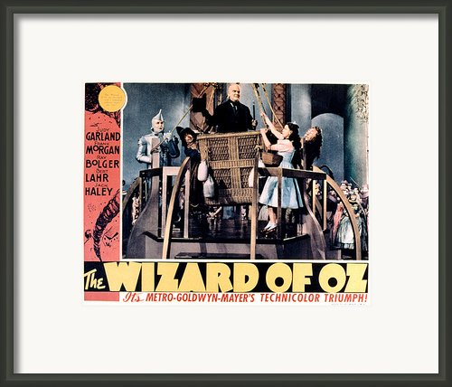 The Wizard Of Oz, Jack Haley, Ray Framed Print By Everett