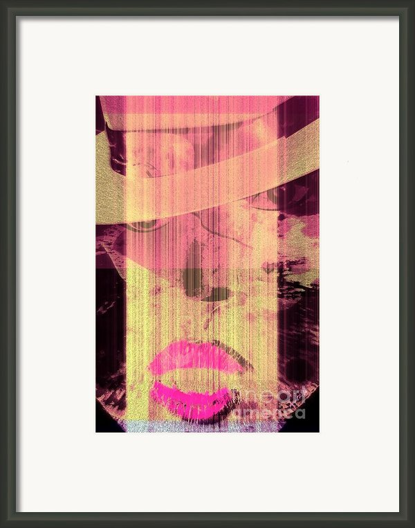 The Woman Framed Print By Fania Simon