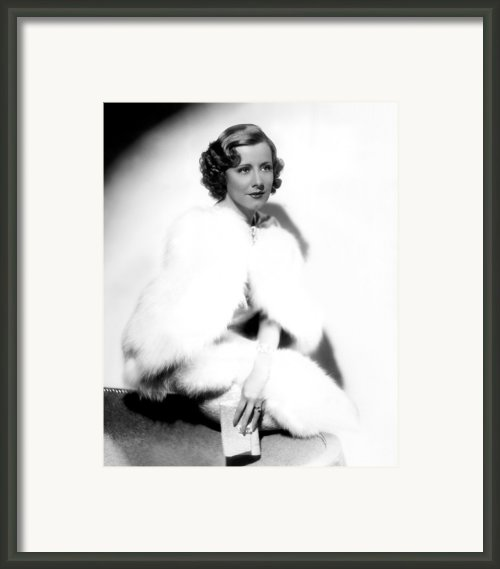 Theodora Goes Wild, Irene Dunne, 1936 Framed Print By Everett