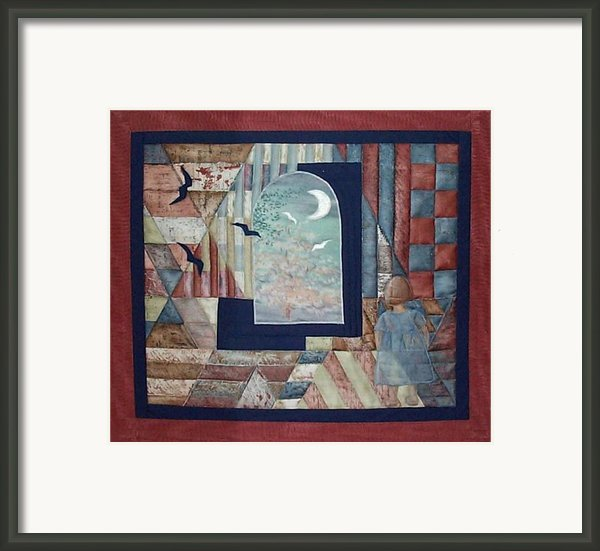 There Is A Place... Framed Print By Gun Legler