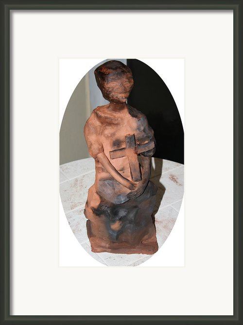 Therese Framed Print By Gloria Ssali