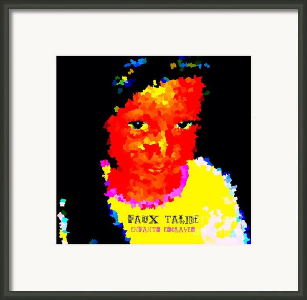 Things In My Eyes Framed Print By Fania Simon