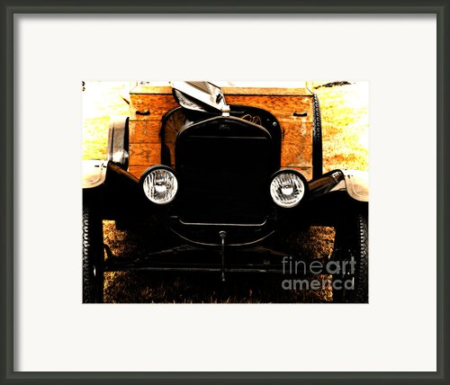 Things That Crank Framed Print By Steven  Digman