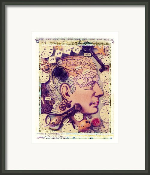 Thinking Framed Print By Garry Gay