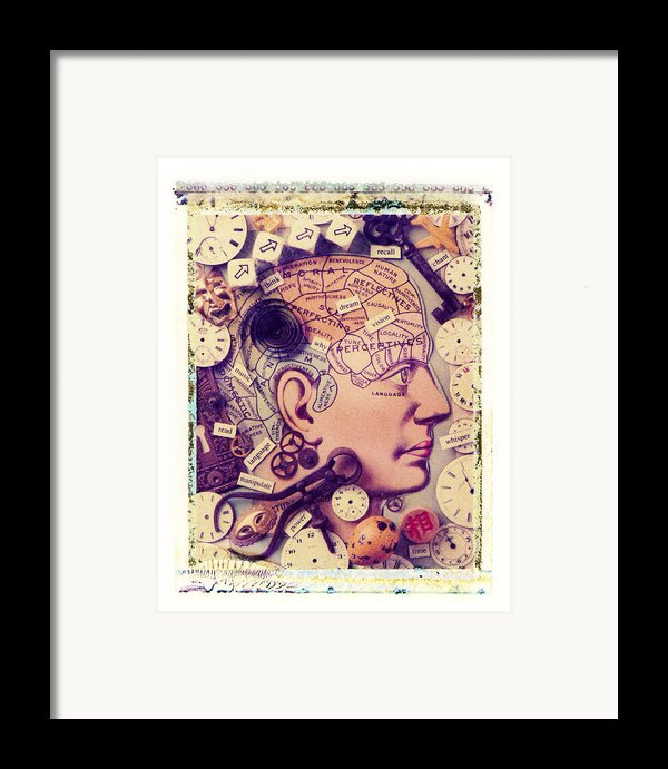 Thinking Framed Print By Garry Gay